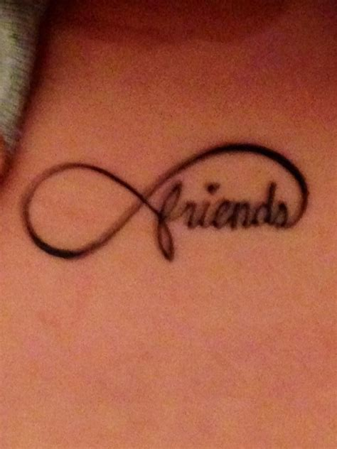 best friend infinity tattoos best friend friends forever tattoos
