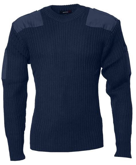 Sweater Blue Army m 87 nato sweater navy blue army gross
