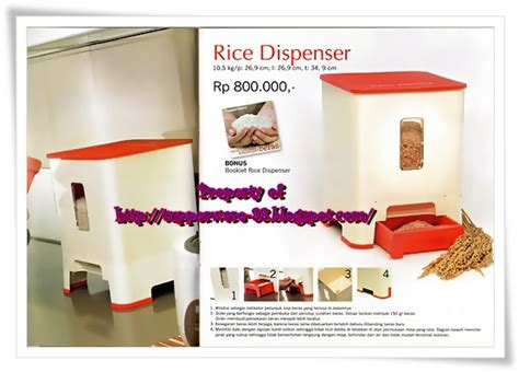 Tempat Beras Tupperware produk tupperware rice dispenser tupperware gallery