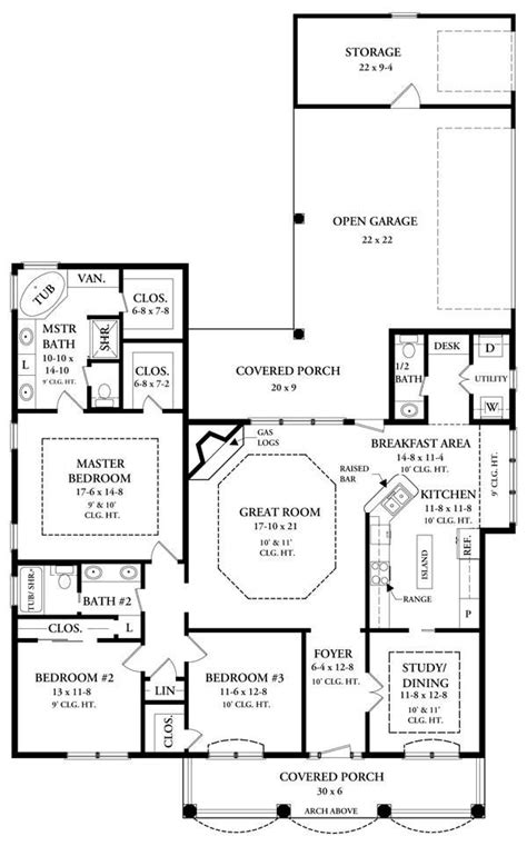 floor plans 2000 square the ravenwood 5876 3 bedrooms and 2 baths the house designers