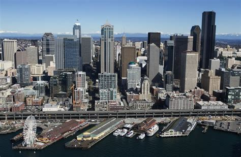 City Of Seattle Ranking Mba by Seattle Is Ranked No 9 For Cities The Seattle Times