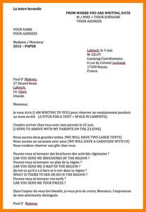 Business Letter In French 6 How To Write A Formal Letter In French Daily Task Tracker