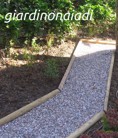 ghiaia giardino il giardino delle naiadi due passi in giardino seconda parte