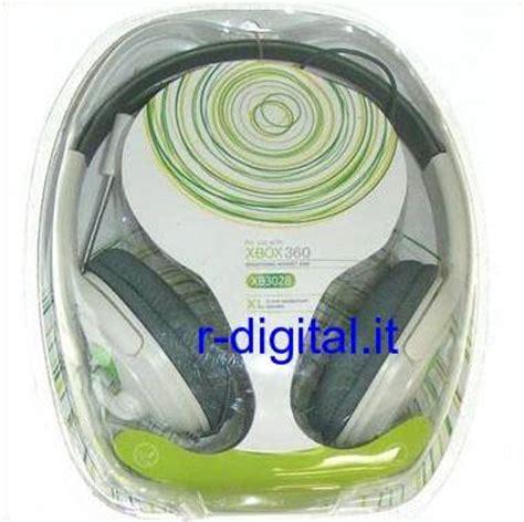 cuffie per console cuffie xl con microfono xbox 360 per console live