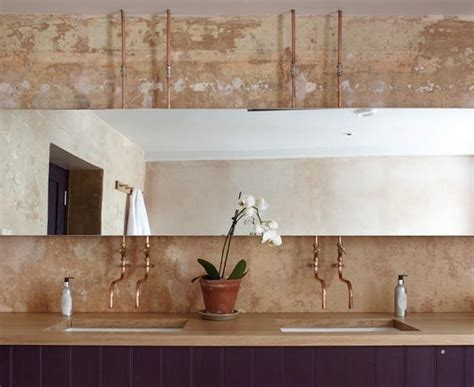 Copper Plumbing Fixtures by Inspiration Pipe Faucets Lark Linen