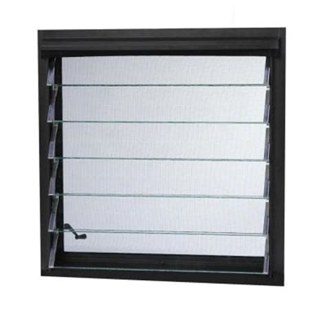 window louvers house tafco windows jalousie utility louver aluminum window jalb2418 the home depot
