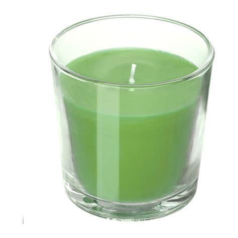 ikea candele profumate sinnlig candela profumata con vetro ikea
