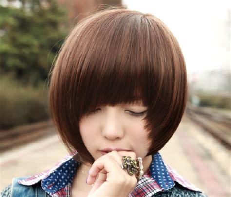 model rambut pendek wanita ala korea info balikpapan