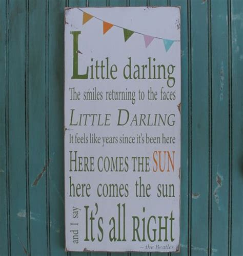 The Most Beautiful In The Room Lyrics by 17 Best Ideas About Beatles Nursery On Yellow
