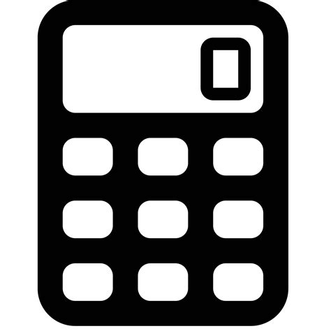 calculator icon calculator icon free png and svg download