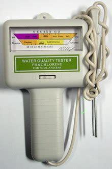 Alat Ukur Kadar Ph Air alat ukur kadar chlorine ph kcp01 tester air kolam renang