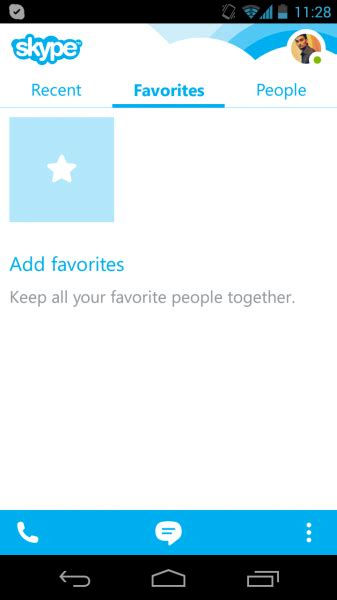 skype android apk skype 4 5 apk for android now