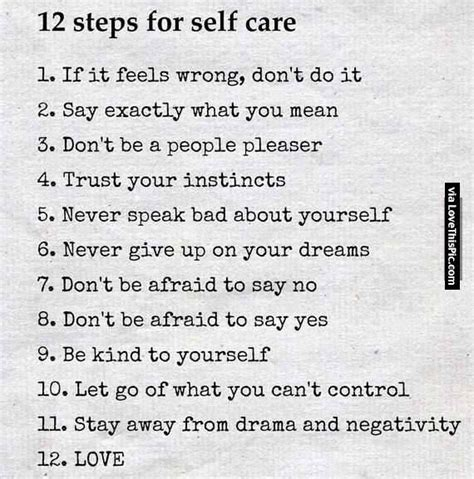 10 Steps To Help You Your by 12 Steps For Self Care Pictures Photos And Images For