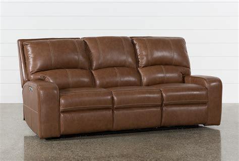 saddle leather reclining sofa clyde saddle leather power reclining sofa w power headrest