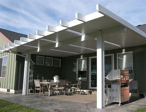 alumawood patio cover exle five alumawood newport with skylights albany at tntbuildersinc