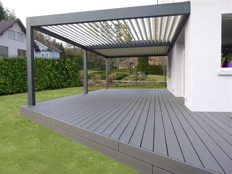 terrasse a terrasse composite atlantis bois n 233 goce