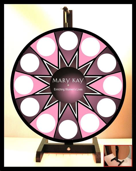 Prize Wheel 18 Quot Spinning Tabletop Portable Mary Kay New Ebay Prizewheel Templates