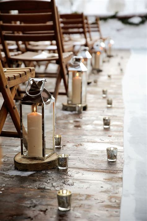 Wedding Aisle Lined With Lanterns by 898 Best Images About Winter Wedding Ideas And Inspiration