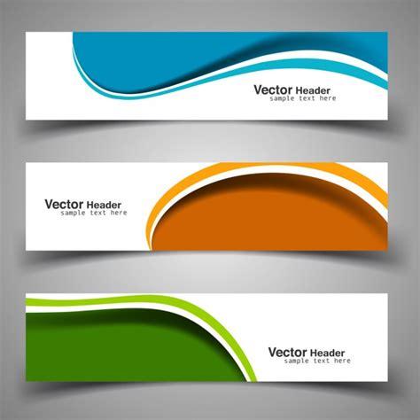 exhaust header design software free download wavy colorful headers vector free download