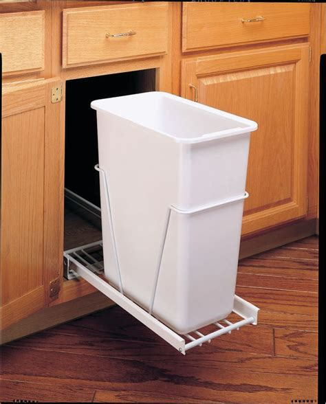 Rev A Shelf Pull Out Waste Container rev a shelf rv 9pb white rv series 30 quart pull out waste