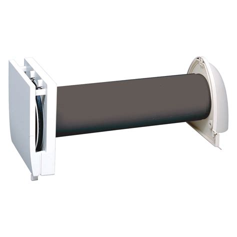 Bathroom Passive Ventilation Shop Panasonic Polypropylene Wall Vent Kit At Lowes