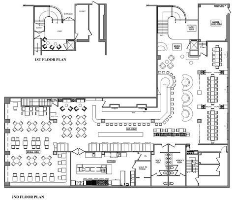 House Floor Plans With Safe Rooms desmond s steakhouse goldman design group