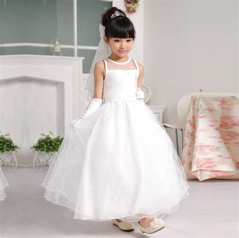 White Flower Dress Excellent Quality aliexpress buy high quality flower dress white simple vestido of 2 14