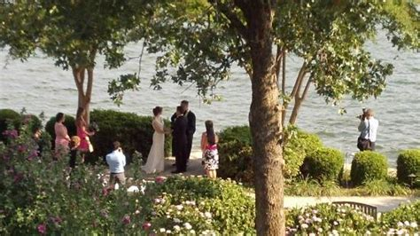 we had a see a small private wedding on