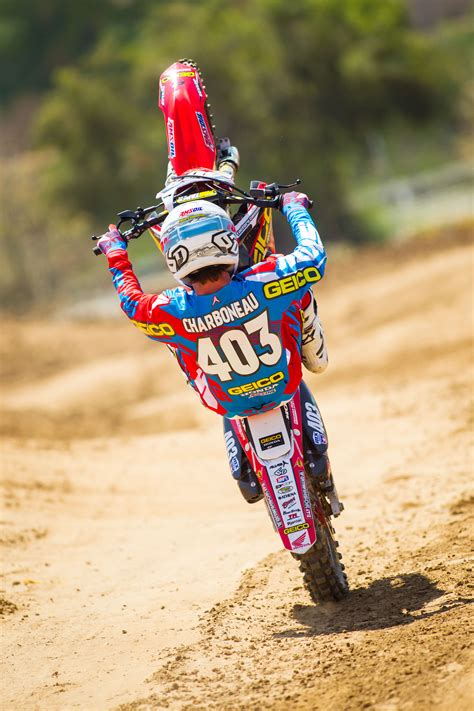 pro am motocross geico honda announces rider lineup for pro motocross