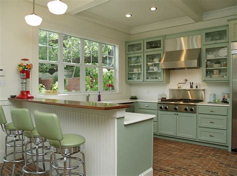 retro style kitchen cabinets retro kitchens that spice up your home