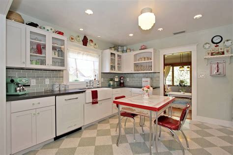 kitchen design ideas retro kitchen house interior retro kitchens curved white finish oak kitchen cabinet