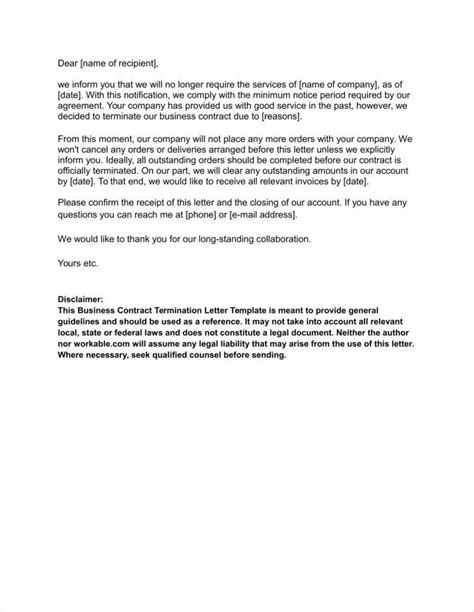 Business Contract Termination Letter Template Uk letter to cancel service mado sahkotupakka co