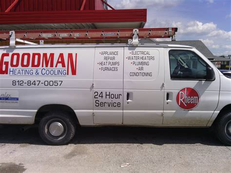 goodman heating and cooling linton indiana goodman heating cooling about
