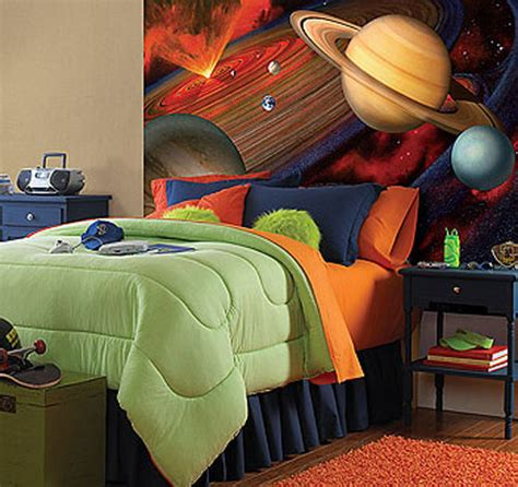 space galaxy large     solar system wall accent