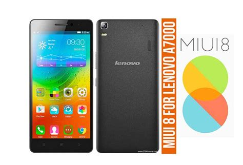 Lenovo A7000 Custom 1 how to install miui 8 2 1 0 on lenovo a7000 stable rom