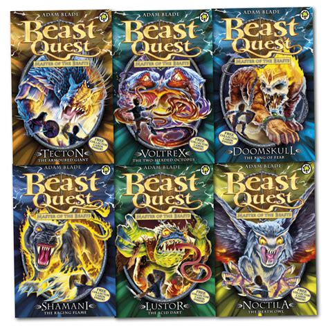 the beast of ten books beast quest series 10 master of the beasts 6 books