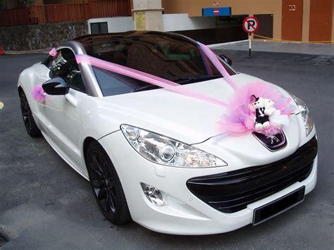 Wedding Car Decoration Ideas by Wedding Car Decorations Thehletts