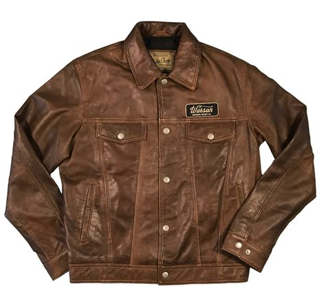 Button Jacket western button jacket sheep brown