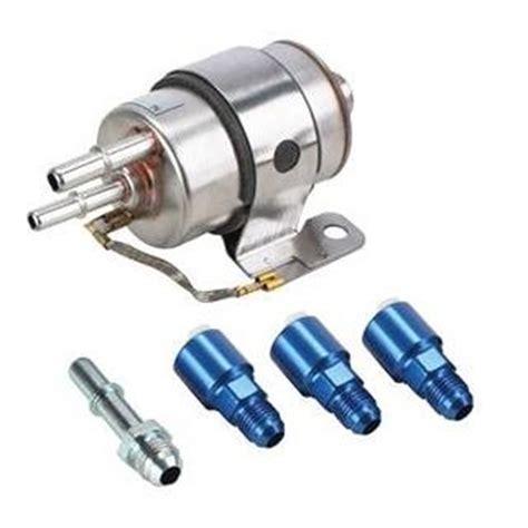 ls full flow fuel filterregulator fittings   full flow  psi ebay