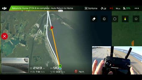 dji mavic air range test youtube