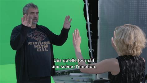 film lucy acteurs making of du film lucy lucy making of quot luc besson et