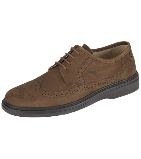 Country Boots Casual Slop Suede lightweight suede brogue casual shoes and boots from