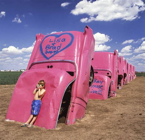 cadillac ramch forty years of the cadillac ranch