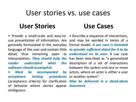 user story template pdf user stories in agile software development