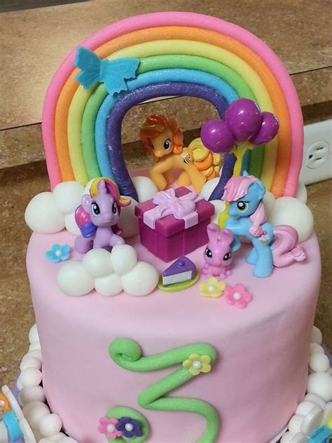 My Pony Blue N Pink my pony birthday cakes cake my pony cake