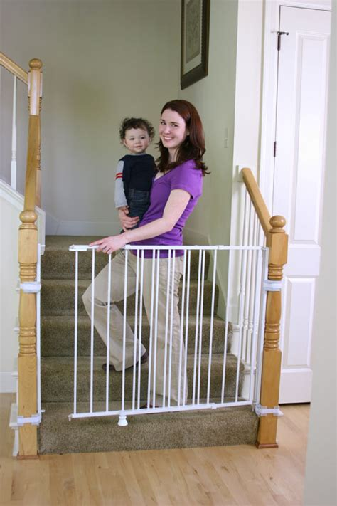 Baby Gate For Bottom Of Stairs With Banister Regalo Extra Tall Top Of Stairs Gate Product Shot