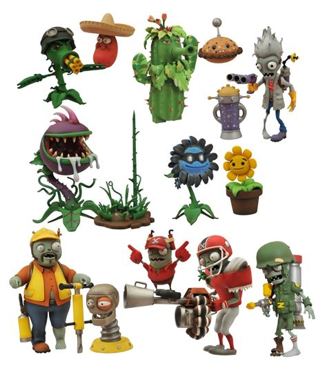 Plants Vs Zombies Garden Warfare Figures by Figure Insider 187 Select Toys As Seen At Ny