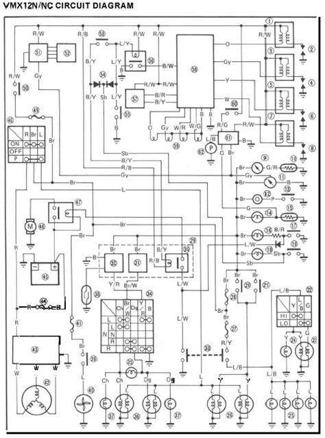 yamaha vmax 1200 wiring diagram 31 wiring diagram images