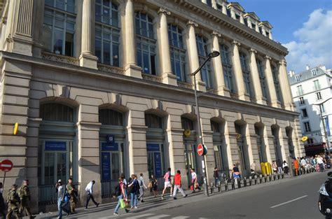 bureau de poste gare montparnasse bureau de poste gare du nord 224 en m 233 tro