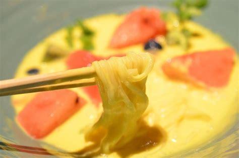 membuat yogurt rasa mangga wow mau rasakan sensasi makan mie rasa yogurt mangga